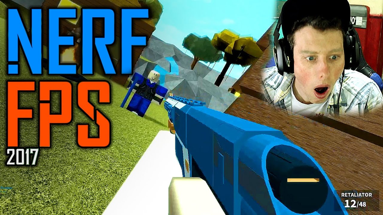 Red Ops Fps Team Deathmatch Roblox - Nerf Fps 2017 Roblox Gameplay