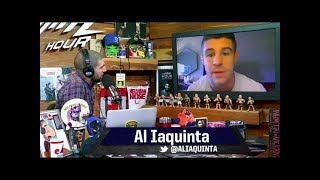 Al Iaquinta says Dana White is on his way out.  Is Dana losing his mind?