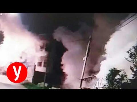 העימותים בכפר עבווין ליד רמאללה בהם חוסל המחבל מהפיגוע בצומת אריאל