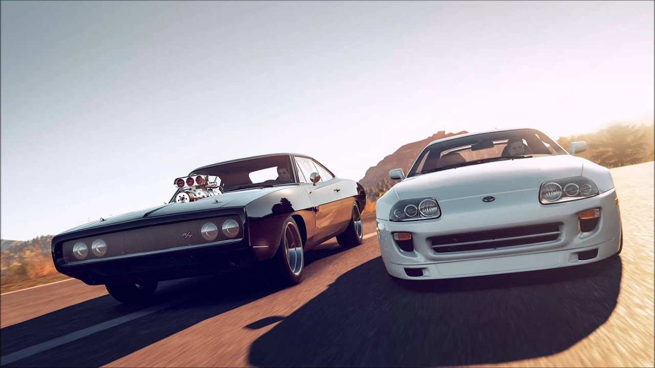 Toyota Supra 1920x1080 >> Wiz Khalifa - See You Again (Feat. Charlie Puth) Toyota Supra and Dodge Charger Edition - YouTube
