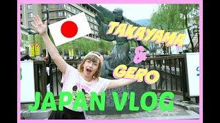 JAPAN VLOG | Trip to GIFU -DAY 1-Takayama and Gero!