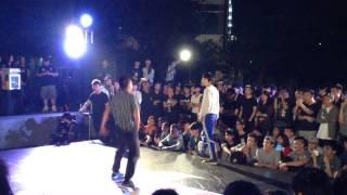 Red Bull BC One 2015 HK Cypher -  ET Vs MonkeyJ
