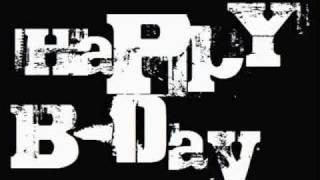 Feliz Cumpleaños-Tambor urbano