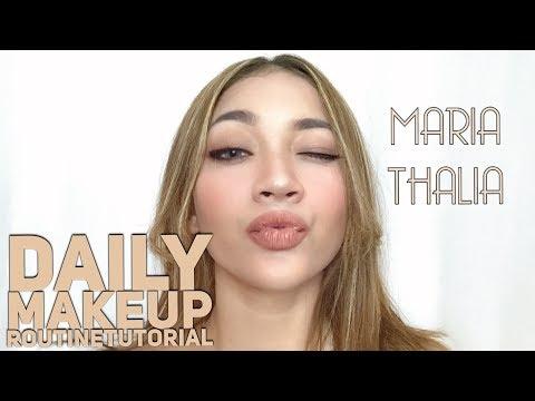 DAILY MAKEUP TUTORIAL | ALA MARIA THALIA
