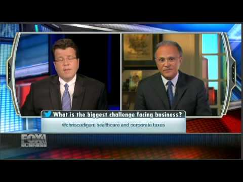 Richard Scrushy on Fox Business News Speaking About Mergers