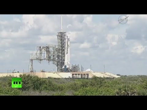 SpaceX launches cargo ship to Intl Space Station (STREAMED LIVE)
