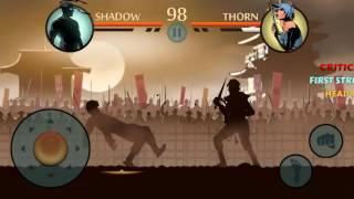 Shadow Fight 2 - Tournament Shadow vs Monkey vs Thorn vs Jester vs Iron