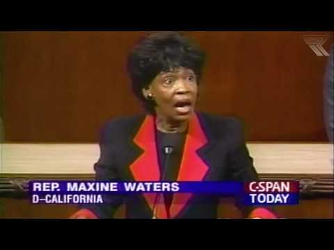 1994: Maxine Waters Embarrasses Herself (THROWBACK) -