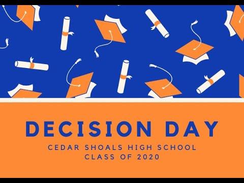 Cedar Shoals High School Decision Day 2020