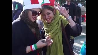 四十年来首次! 数千伊朗女子进体育场看足球赛