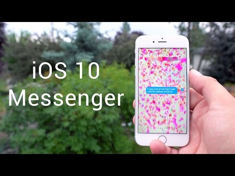 How to get animations on iphone messages background