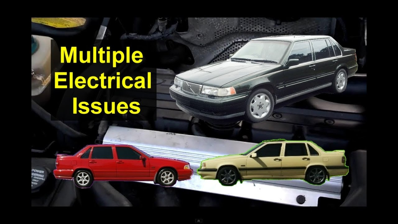 multiple electrical issues bad ignition switch volvo s70 850 960 s90 auto repair series [ 1280 x 720 Pixel ]