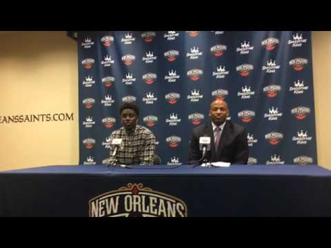 Jrue Holiday on re-signing with the Pelicans