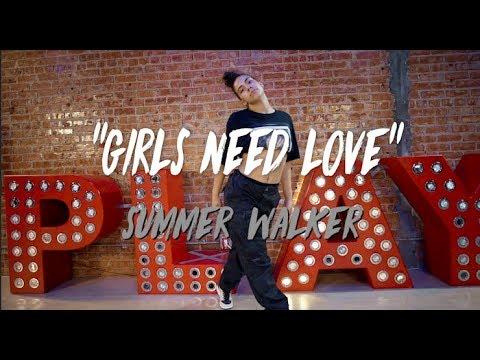 "Summer Walker - ""Girls Need Love"" | Nicole Kirkland Choreography"