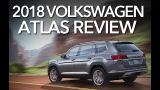 Best SUV of 2018? Volkswagen Atlas - Review and Test Drive