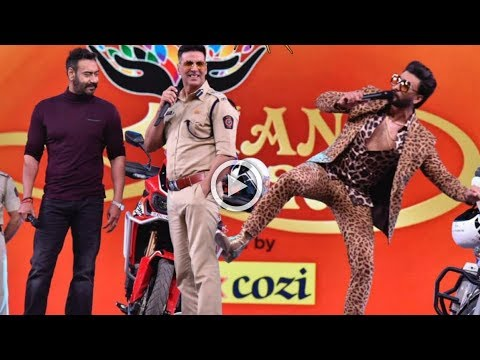 Umang 2019: Ranveer Singh | Akshay Kumar | Ajay Devgan | Rohit Shetty | The Bollywood Channel thumbnail