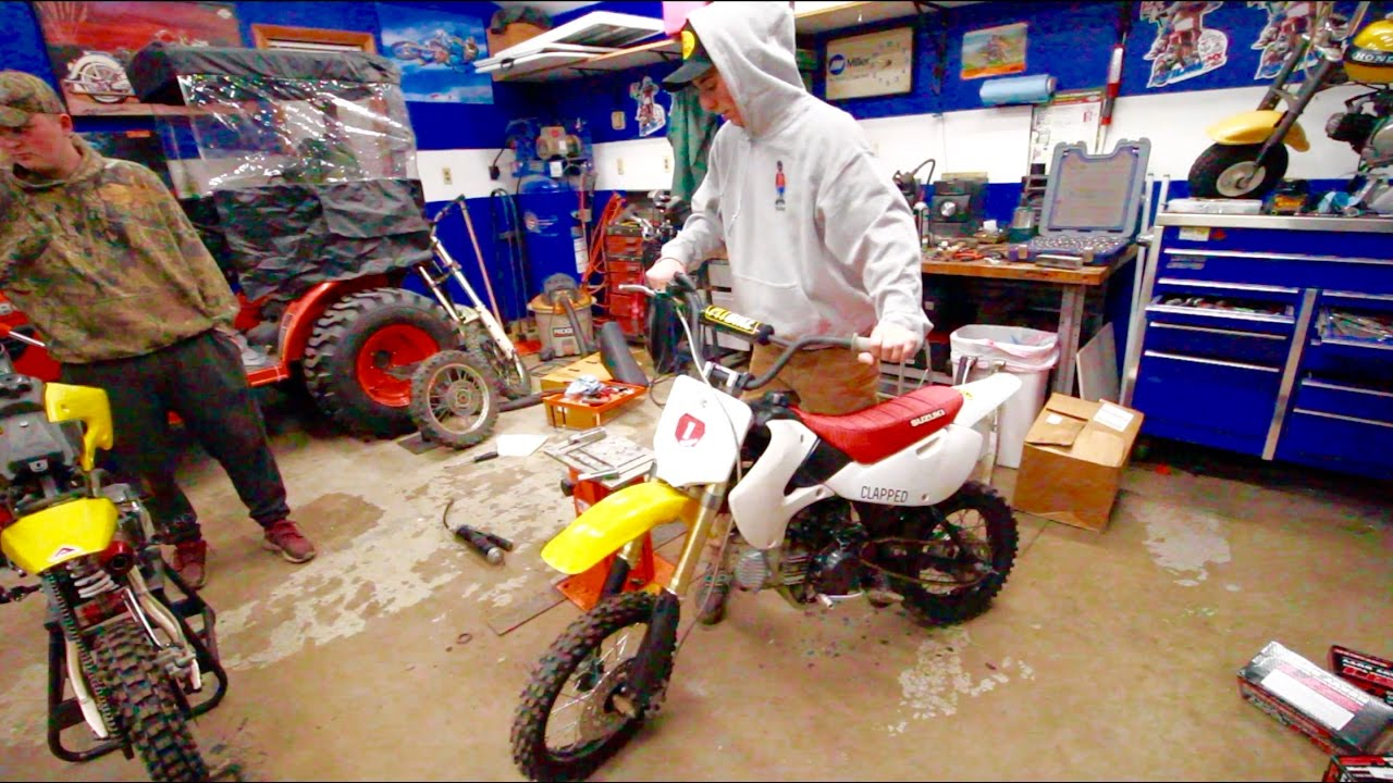 how to make a pit bike