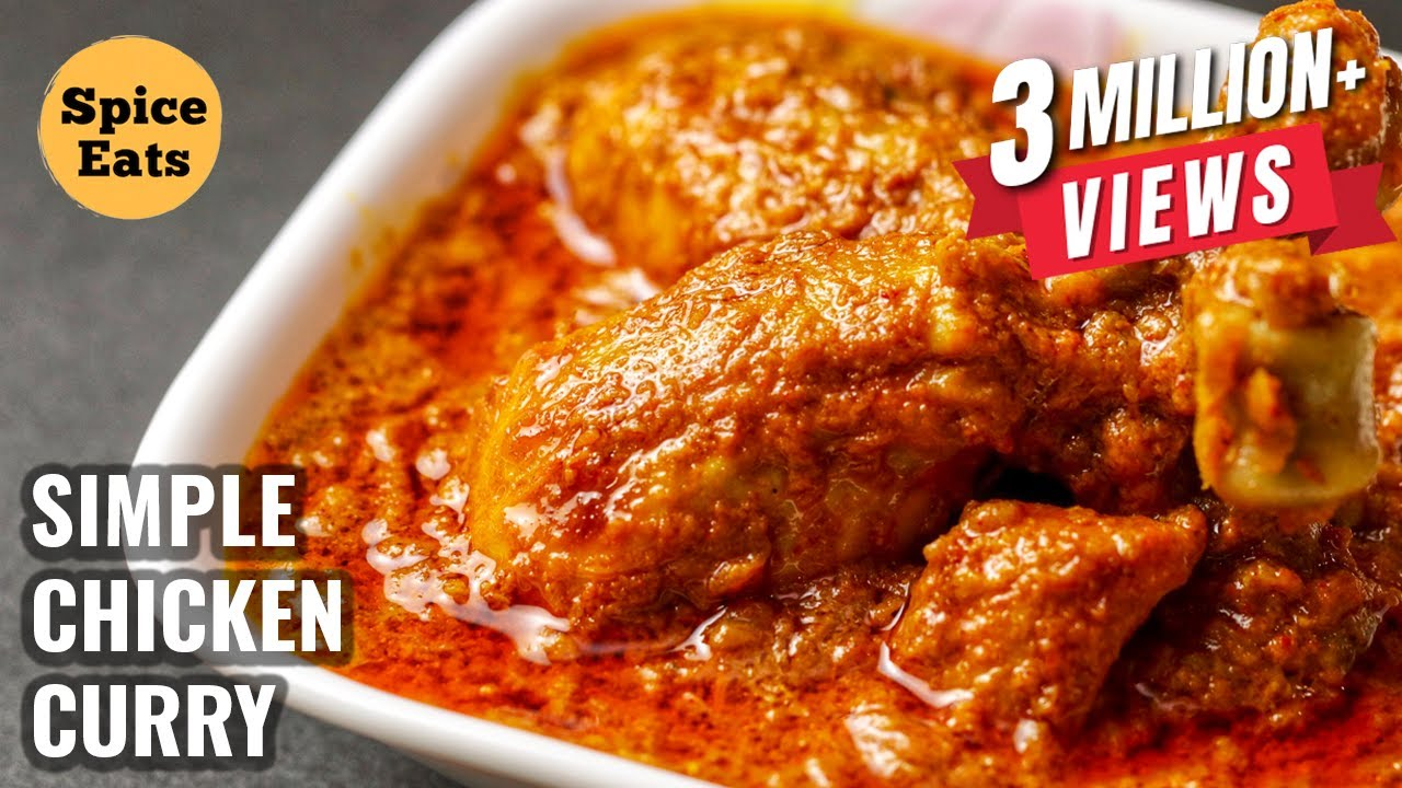 SIMPLE CHICKEN CURRY RECIPE | QUICK & EASY CHICKEN CURRY