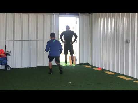 Defensive Back Training @FSA. Luna Middle School football.