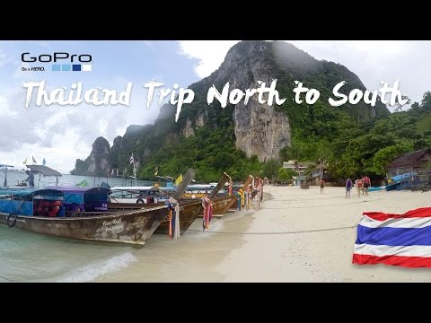 GoPro HERO 4 | Thailand Trip North to South | Travel | 2016