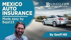 Mexico Auto Insurance made easy by Baja123.com