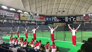 2019/7/16 都市対抗野球1回戦 トヨタ自動車vs三菱日立パワーシステムズ 東京ドーム トヨタ自動車初回の応援風景です。