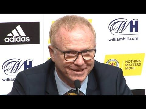 Scotland 0-4 Belgium - Alex McLeish Full Post Match Press Conference - UEFA Nations League