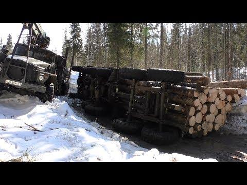 Всё-таки ПОЛОЖИЛИ Урал лесовоз...