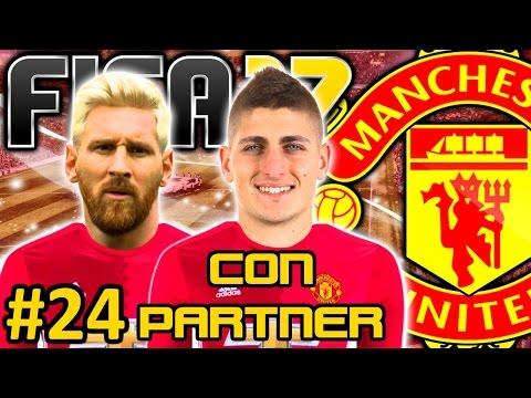 fifa-17-manchester-united-modo-carrera-#24- -se-vino-messi-el-pie-de-oro-llego- -con-partner