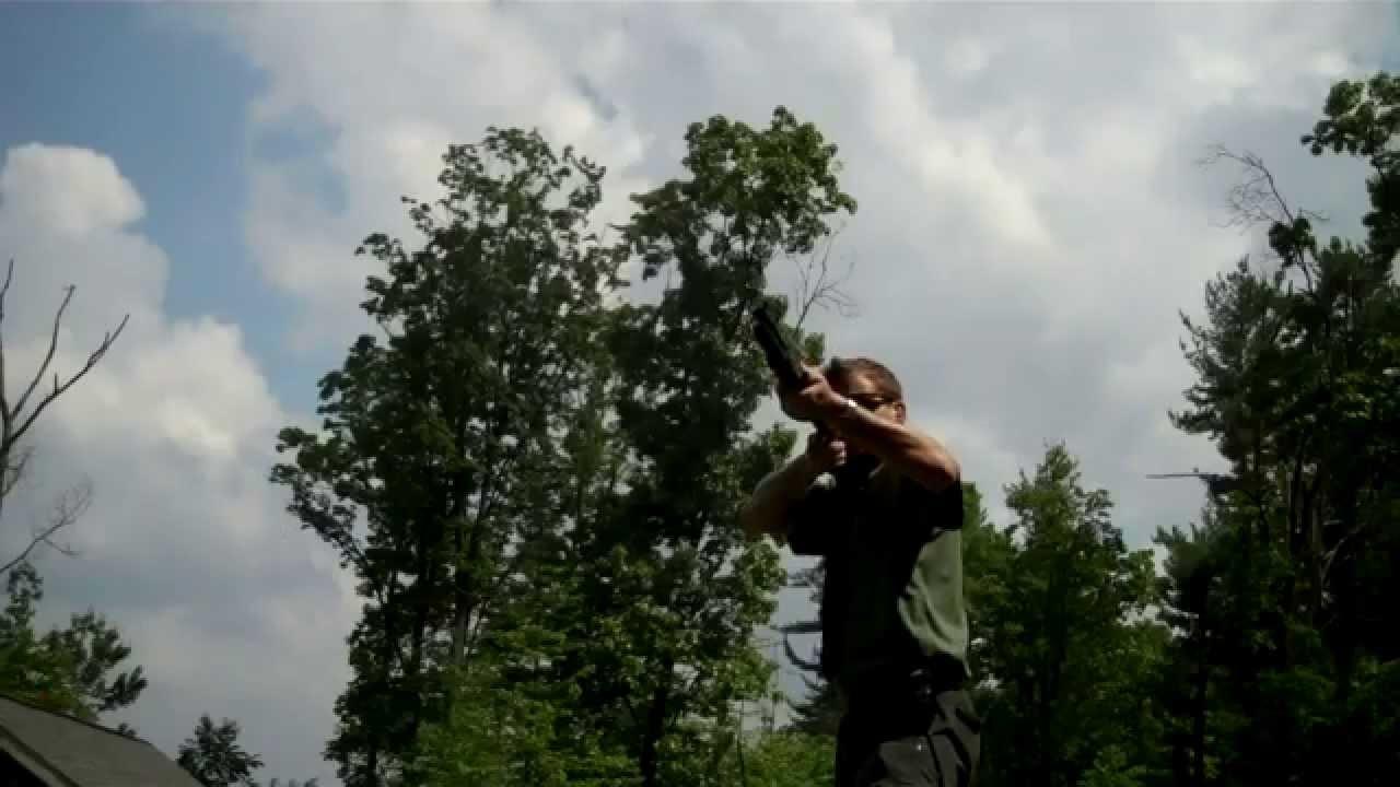 FN SLP Shotgun Speed and function test