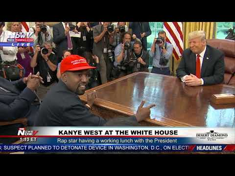 KANYE WEST Goes On A RANT At The White House With President Trump Mp3