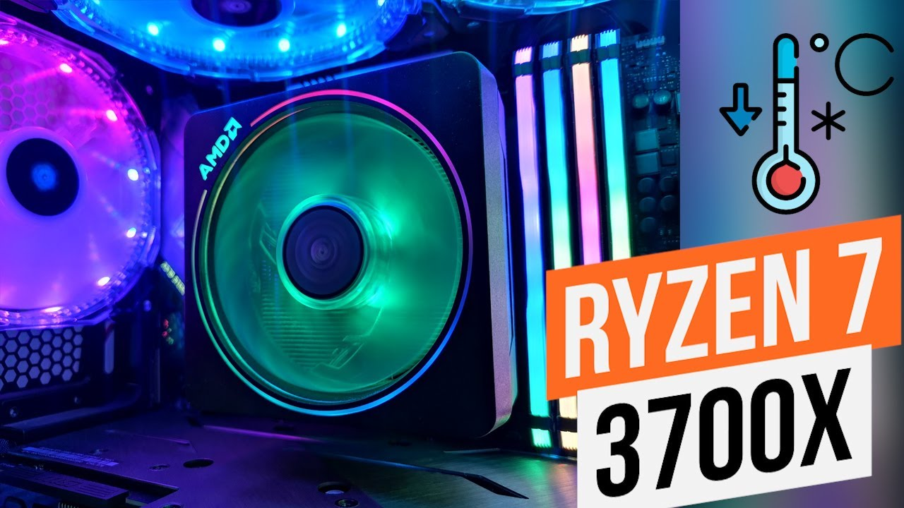 Ryzen 7 3700x Stress Test And Gaming Benchmark Using Stock Cooler Amd Wraith Prism Youtube