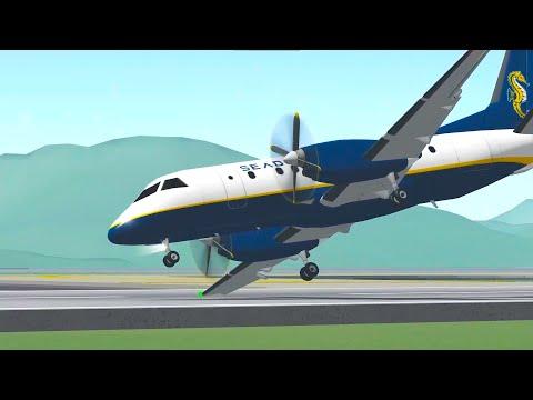 Saab 340 Landing Competition in FLIGHTLINE!