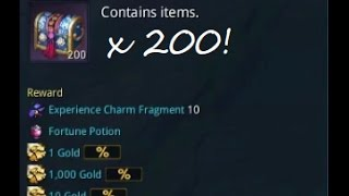 Blade & Soul: Opening 200 Daily Challenge Reward Chest Boxes