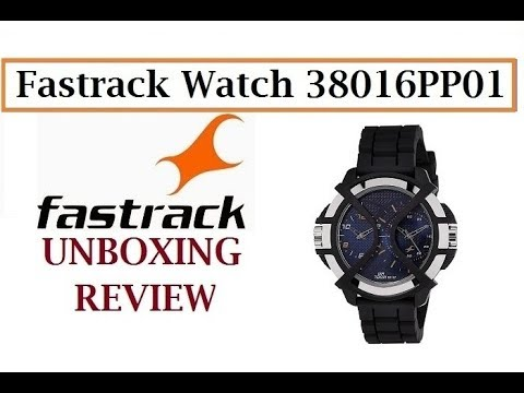 Fastrack Sport Chronograph Time Blue Dial Men's Watch - 38016PP01 Unboxing And Review
