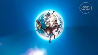 Skydiving in 360 VR! 4K thumbnail