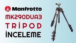 Manfrotto MK290DUA3-3W Tripod İnceleme| fotografium.com