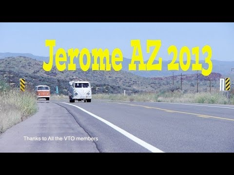 Egg Bus Ep #1 - How to have a blast on a VW  Bus Trip to Jerome AZ