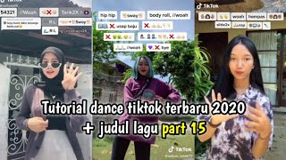 Download lagu Tutorial dance tiktok 2020 + judul lagu part 15