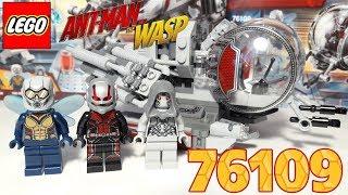 Обзор LEGO Super Heroes 76109 - Quantum Realm Explorers (Исследователи квантового мира)