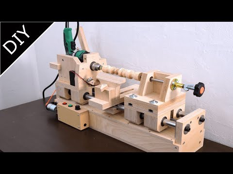 Making of Wood lathe - 6in1 drill press Part.3
