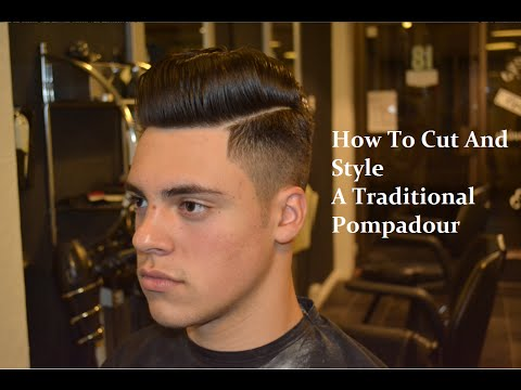 #1 Pompadour   - Kieron The Barber -