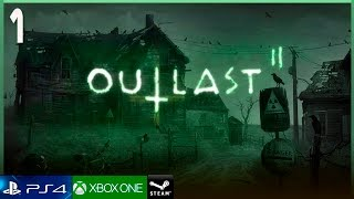 OUTLAST 2 Gameplay Español Parte 1 (PS4 PRO) Walkthrough | JUEGO COMPLETO HD 1080p 60FPS
