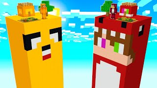 BASE DE MIKECRACK VS BASE DE RAPTORGAMER 😱 MINECRAFT RAPTORGAMER