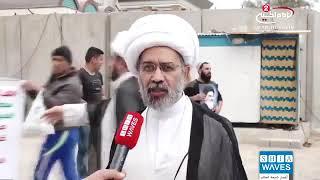 إيران تعتقل نجل المرجع الشيعي