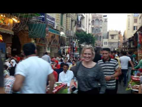 Ramadan in Egypt,Khan khalili market in Cairo