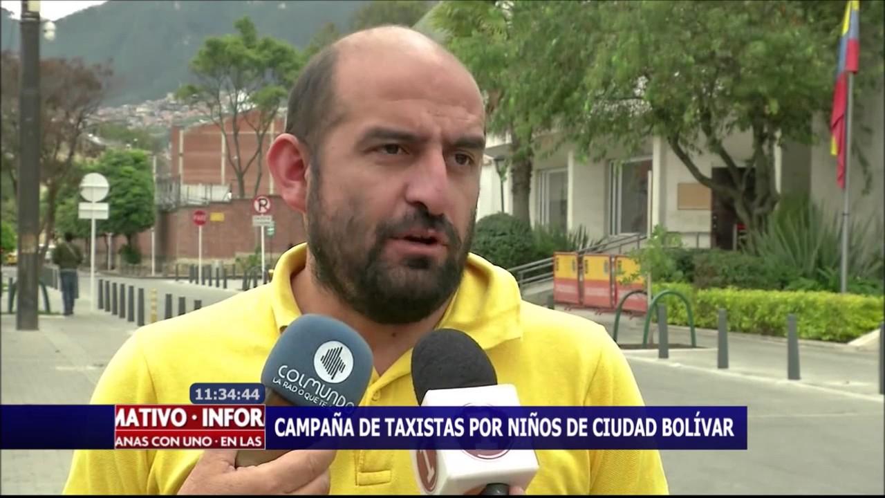 Campaña de taxistas por niños de Ciudad Bolívar