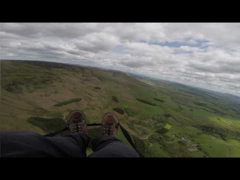 Paragliding Parlick East 20160525 on Gin Bolero 5