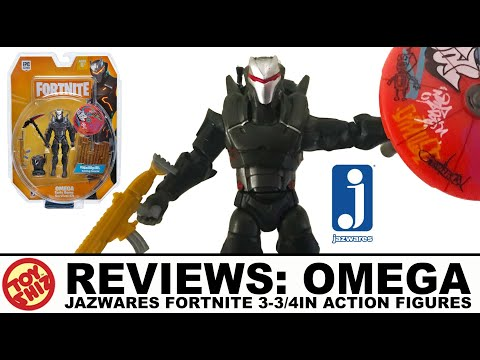 Toy Shiz REVIEWS: OMEGA Fortnite Figure By Jazwares