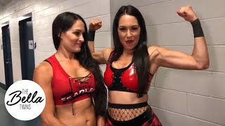 (0.07 MB) THE BELLA TWINS ARE BACK! Brie dedicates her tag team match win to Birdie! #WorldsToughestMama Mp3